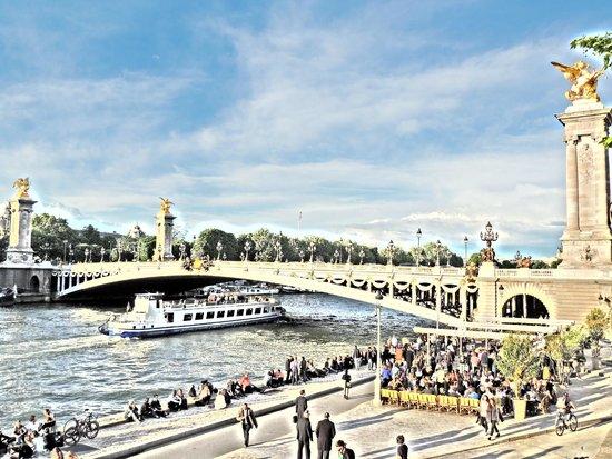 La Seine et le Pont Alexandre III
