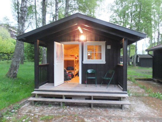 Bogstad Camp & Turistsenter: Outside of the cabin