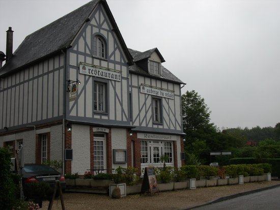 Varengeville-sur-Mer, France: facade du restaurant