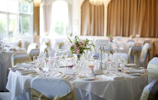 Moorland Garden Hotel: The Crystal Room set up for our wedding