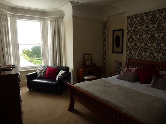 The Longcross Hotel & Gardens: #1 with distant sea view