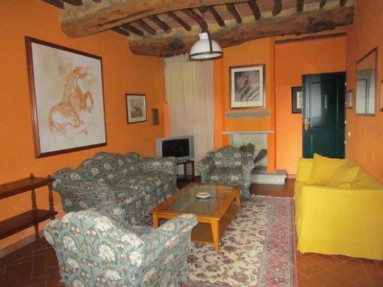 La Casa Rossa: гостиная