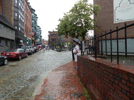 The Paul Revere House: taken from across the street