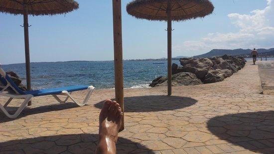 Hipotels Eurotel Punta Rotja & Spa: Beach Area