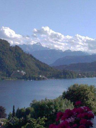 Schuetzenhof: Sicht vom Balkon aus