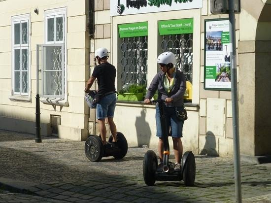 Prague Segway Tours: Simple instructions and we were off!