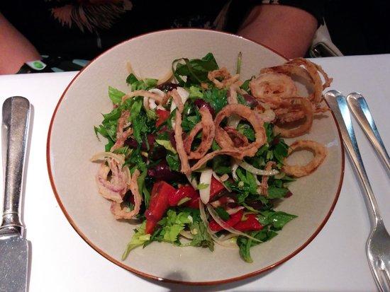 The Ivy: Charred Squid Salad