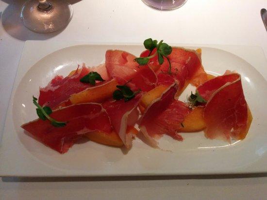 The Ivy: Culaccia Ham with Sicilian Rockmelon ;-)