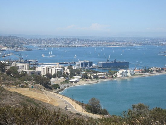 Point Loma: San Diego from Cabrillo Monument