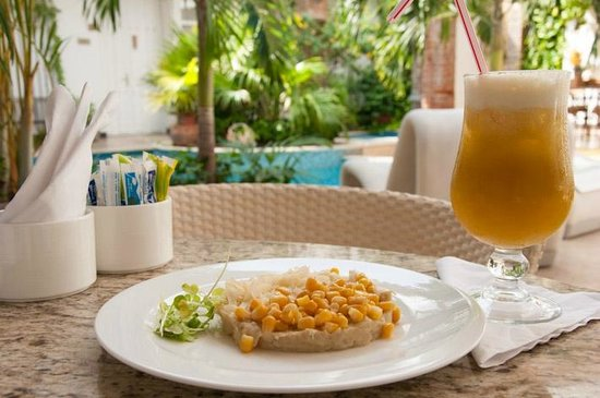 Hotel Boutique Don Pepe: Cayeye (typical local breakfast)