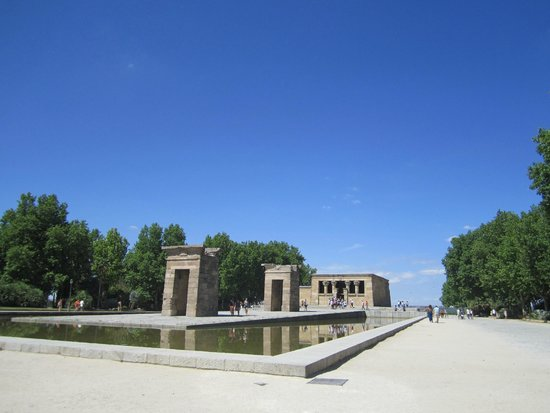 templo de debod temple of debod