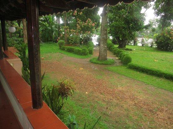 The Pamba Heritage Villa: Backyard