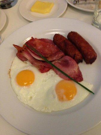 Fitzwilliam Hotel Dublin: Desayuno