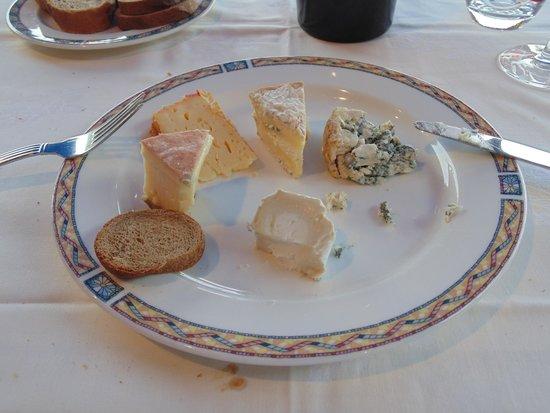 Café de Paris : Cheese plate