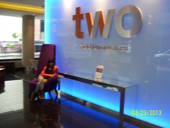 Two Hotel Buenos Aires: entrada