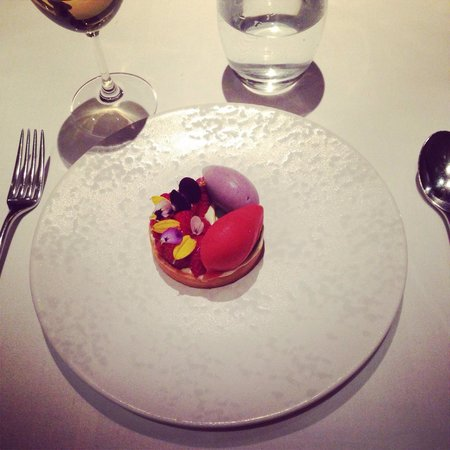 The Ledbury: Strawberry creation by Jockey