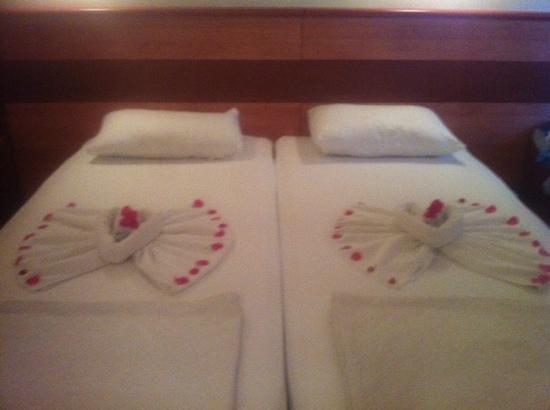 Mavruka Hotel : our bed on the last night