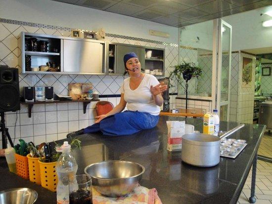 Hotel Oasi Olimpia Relais: Chef Carmen