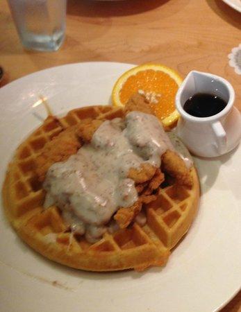 Yolk : Chicken and Waffles