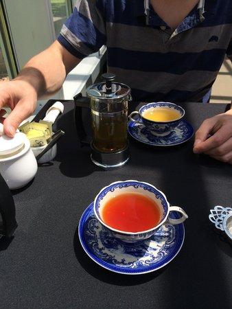 McFarland House: The tea