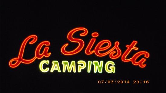 """Camping La Siesta - Calella de Palafrugell: Entrée """"Calella"""""""