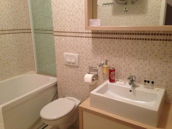Aparthotel Bellevue: Baño