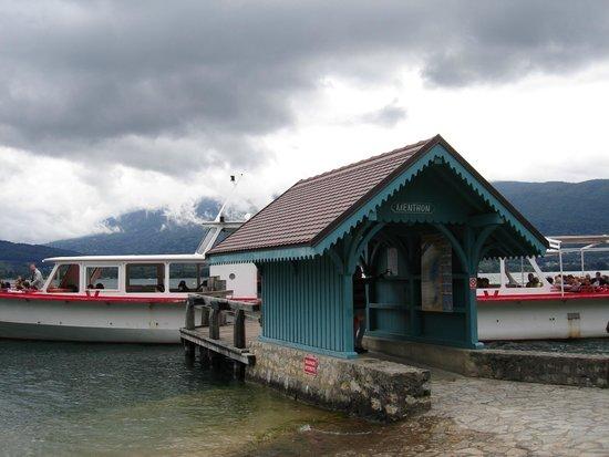 Compagnie des Bateaux du Lac d'Annecy : embarcadère de Menthon Saint Bernard