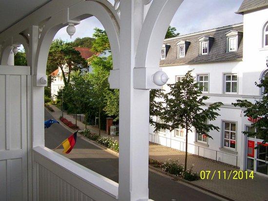 Loev Hotel Ruegen: Sicht vom Balkon