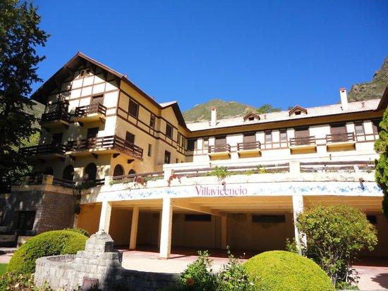 Reserva Natural Villavicencio: Hotel Villavicencio
