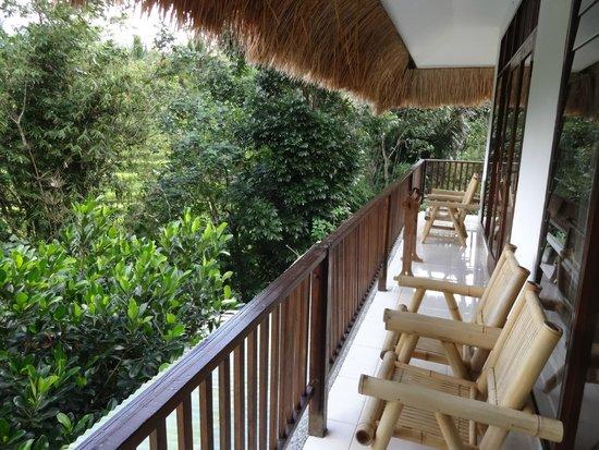 Kelimutu Crater Lakes Eco Lodge, Moni, Flores: Balcony