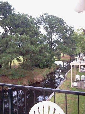 Plantation Resort: Deck, Stream with Turtles, Ducks and Birds