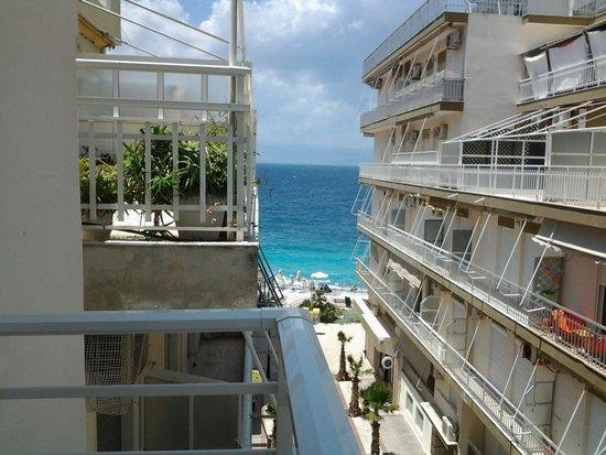 Hotel Marko: ком 302 с видом на море.