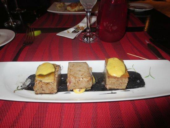 Paradisus Cancun: fresh fish