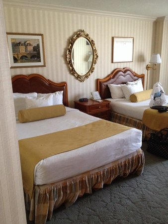 Paris Las Vegas: Standard room