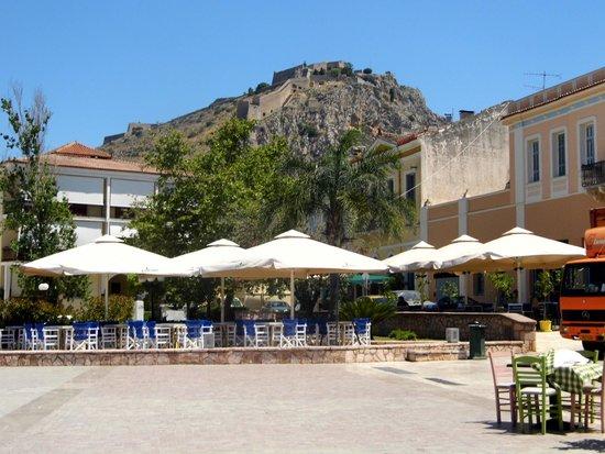 Hotel Victoria: The Plaza near the hotel