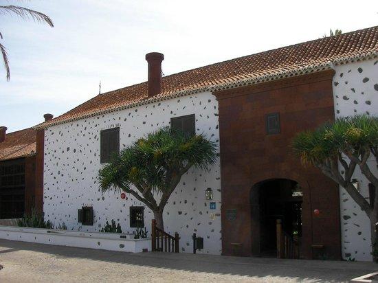 Parador de la Gomera: Entrance to El Parador