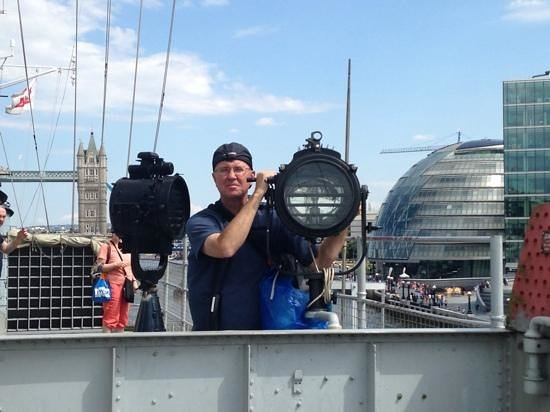 check out the HMS Belfast