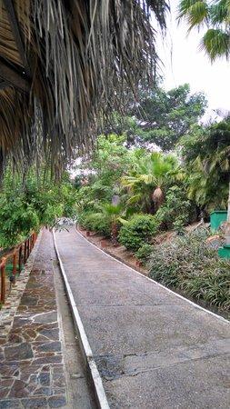 Las Brisas Huatulco: pathways