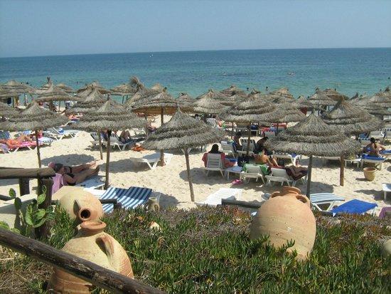 Iberostar Diar El Andalous: notre plage privée !!!