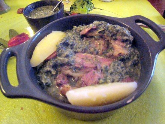 Bougainville Le : tête de veau sauce muguette