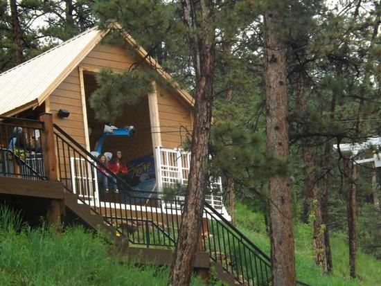 Rush Mountain Adventure Park : zip line