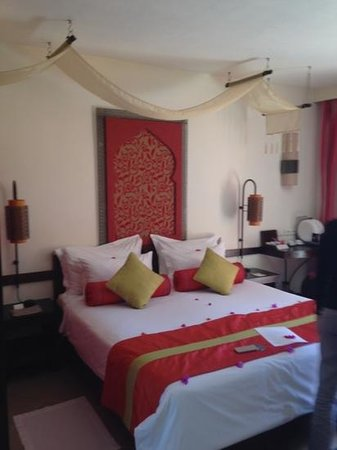 La Palmeraie Boutique Hotel : la chambre
