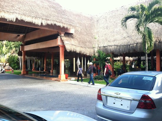 Iberostar Tucan Hotel: View on arrival
