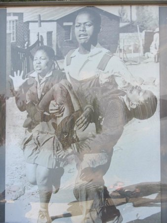 Hector Pieterson Memorial: Iconic Photo of Hector Pieterson being carried