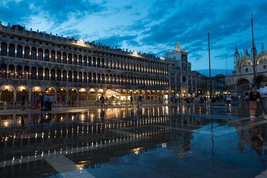 Shadows of Venice Tour: St. Mark's Square with Aqua Alta