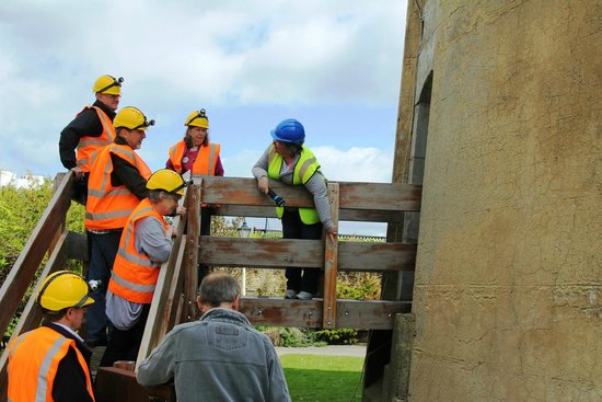 The Wish Tower: Volunteers showing visitors historic points of interest