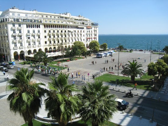 Electra Palace Thessaloniki: View from our room