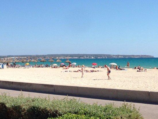 Playa de Palma, El Arenal : playa de mallorca