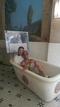 Fordyce Bathhouse (Vistor Center) : That time of year again...another bath!