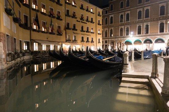 Shadows of Venice Tour: Gondola parking spot near St. Marks Square